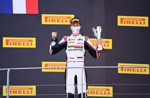 Theo Pourchaire, ART Grand Prix, 3rd position, on the podium