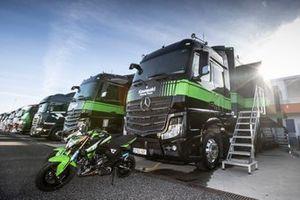 Renntransporter: Kawasaki Racing Team