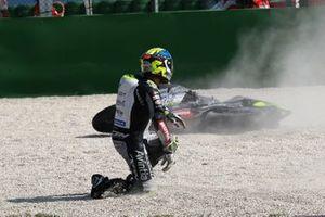 Tito Rabat, Avintia Racing crash