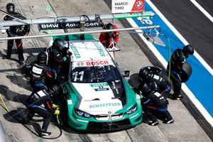 Marco Wittmann, BMW Team RMG, BMW M4 DTM, , pitstop