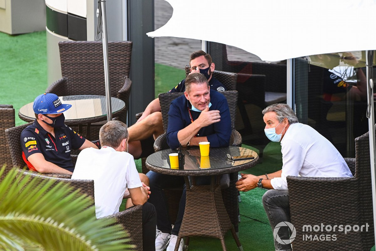 Max Verstappen, Red Bull Racing, y su padre, Jos Verstappen