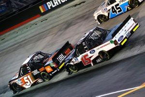 Chandler Smith, Kyle Busch Motorsports, Toyota Tundra JBL, Tanner Gray, DGR-Crosley, Ford F-150 Ford Performance