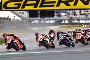 Scott Redding, Aruba.it Racing Ducati, Michael Ruben Rinaldi, Team Goeleven, Michael van Der Mark, Pata Yamaha