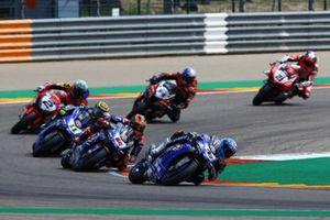 Marco Melandri, GRT Yamaha WorldSBK, Michael van der Mark, Pata Yamaha, Sandro Cortese, GRT Yamaha WorldSBK
