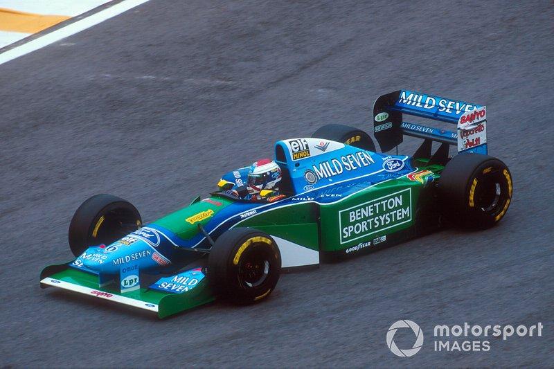 Jos Verstappen (Benetton B194)