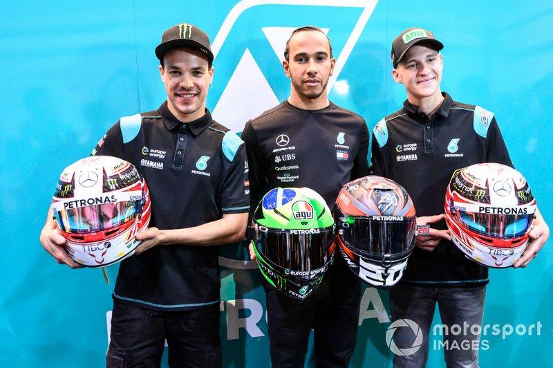 Franco Morbidelli, Petronas Yamaha SRT, Hamilton, Fabio Quartararo, Petronas Yamaha SRT