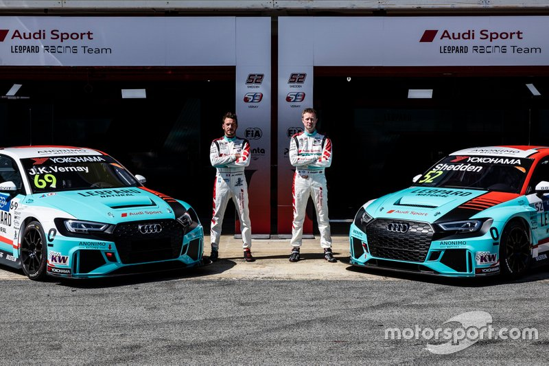 Команда Leopard Racing Team Audi Sport (Люксембург): Жан-Карл Вернэ и Гордон Шедден