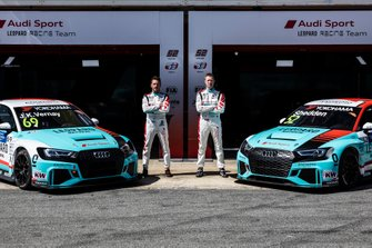 Жан-Карл Вернэ, Гордон Шедден, Leopard Racing Team Audi Sport Audi RS 3 LMS