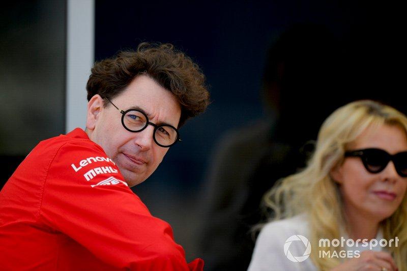 Mattia Binotto, Takım Patronu, Ferrari
