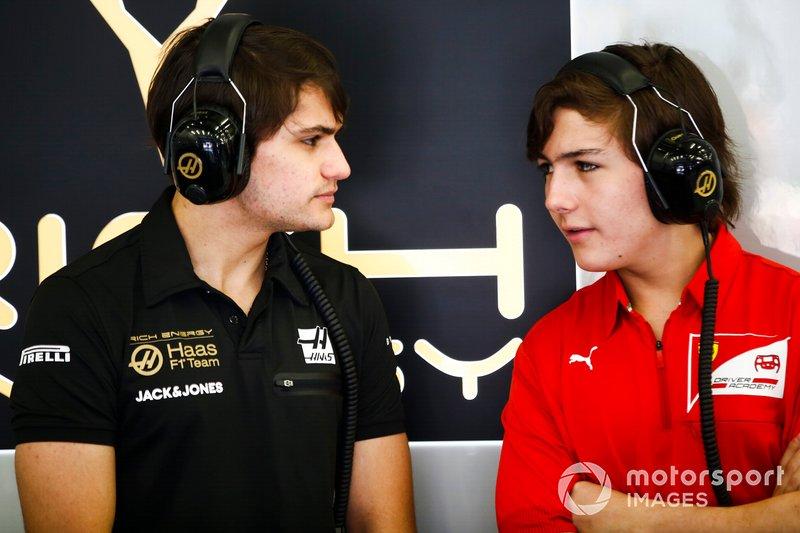 Pietro and Enzo Fittipaldi