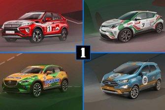 Racing SUV lead