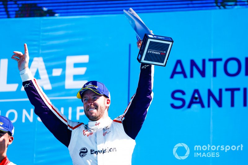 Sam Bird, Envision Virgin Racing, podio