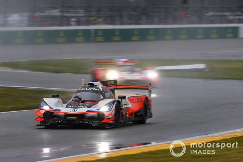 Alexander Rossi, #7 Acura Team Penske Acura DPi, DPi