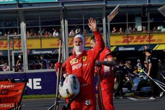 Sebastian Vettel, Ferrari, after qualifying