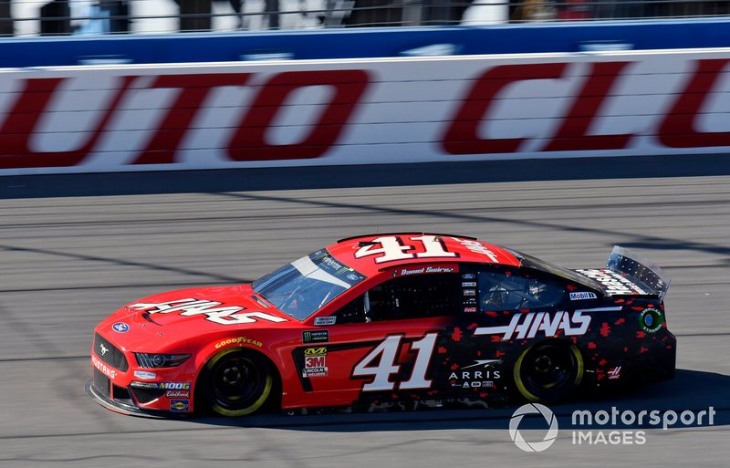 20. Daniel Suarez, Stewart-Haas Racing, Ford Mustang Haas Automation