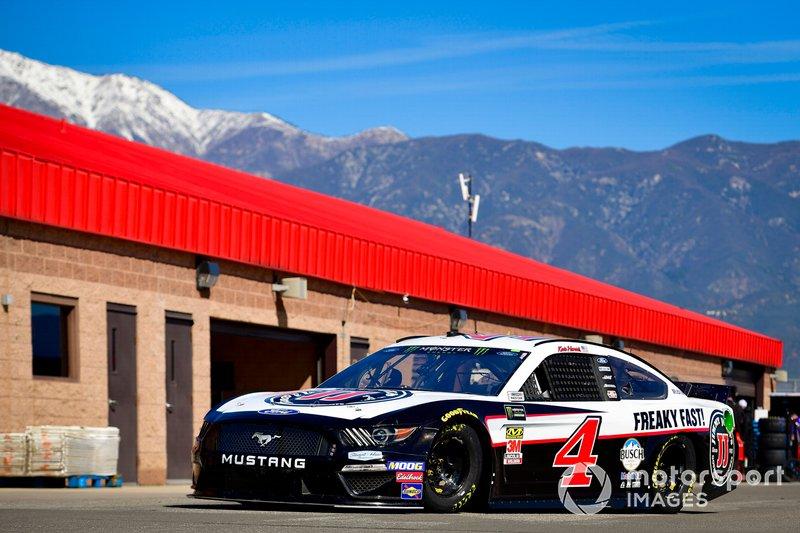 2. Kevin Harvick, Stewart-Haas Racing, Ford Mustang Jimmy John's