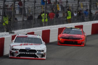 Cole Custer, Stewart-Haas Racing, Ford Mustang Haas Automation, Justin Allgaier, JR Motorsports, Chevrolet Camaro BRANDT Professional Agriculture