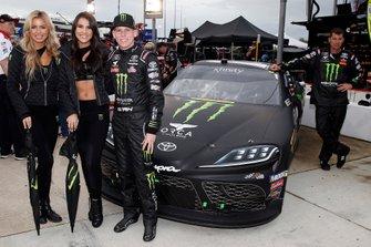 Riley Herbst, Joe Gibbs Racing, Toyota Supra Monster Energy and Monster Girls