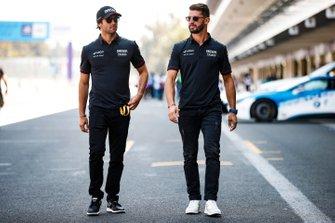 Les nouveaux équipiers Felipe Nasr, Dragon Racing, Penske EV-3 et Jose Maria Lopez, GEOX Dragon Racing, Penske EV-3