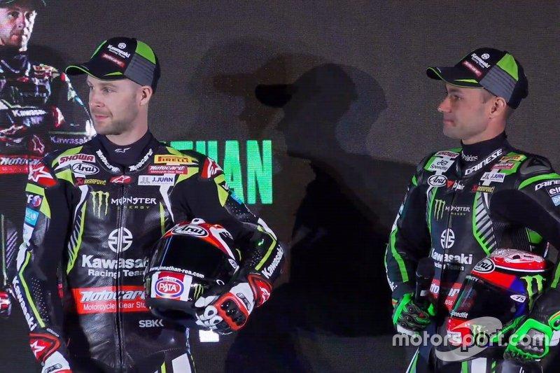 Jonathan Rea, Kawasaki Racing, Leon Haslam, Kawasaki Racing