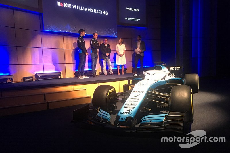 George Russell, Williams, Robert Kubica, Williams, Claire Williams, Williams Deputy Team Principal