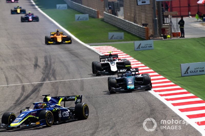 Louis Deletraz, CARLIN and Nicholas Latifi, DAMS