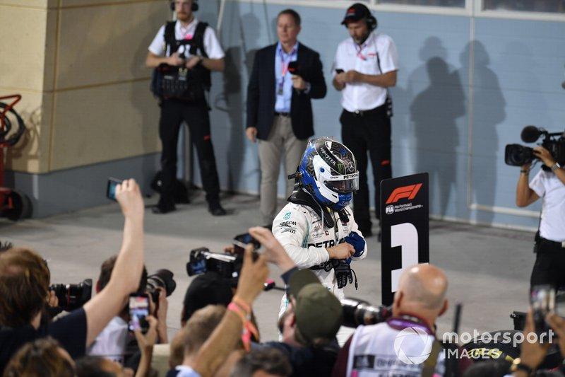 Valtteri Bottas, Mercedes AMG F1, segundo