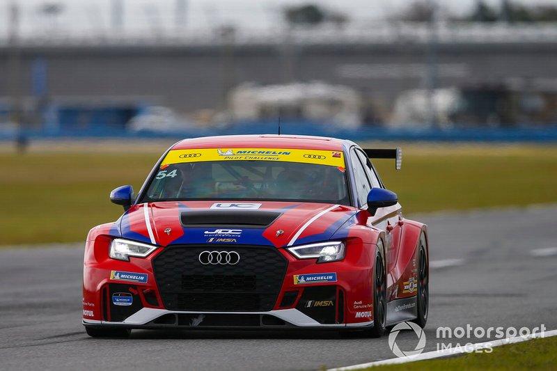 #54 JDC-Miller MotorSports Audi RS3 LMS TCR, TCR: Michael Johnson, Stephen Simpson, Mikey Taylor