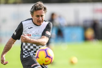 Alejandro Agag, CEO, Formula E, at the charity football match