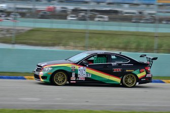 #202 MP3A Mercedes C250 AMG Sport driven by Victor Haye of Massive Motorsport