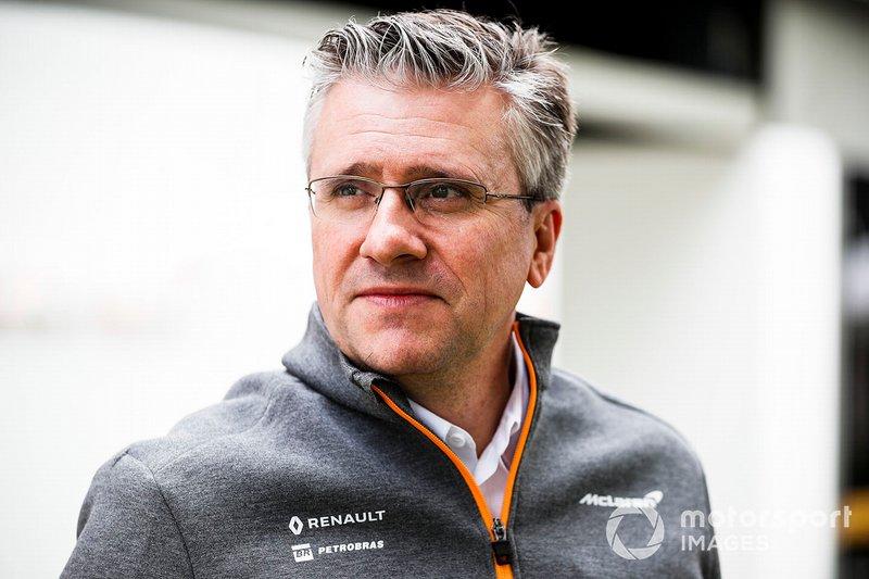 Пэт Фрай, McLaren
