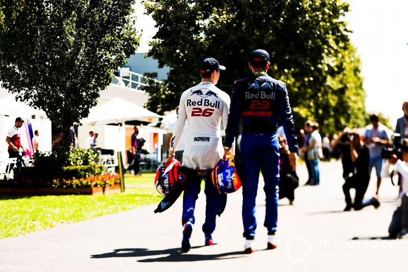 Daniil Kvyat, Toro Rosso e Alexander Albon, Toro Rosso