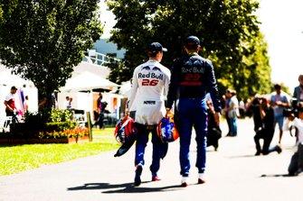 Daniil Kvyat, Toro Rosso et Alexander Albon, Toro Rosso