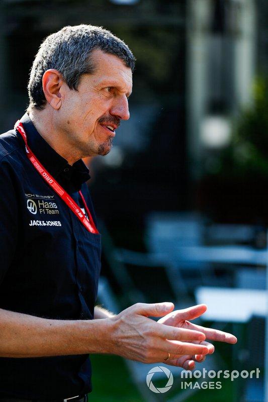 Guenther Steiner, Takım Patronu, Haas F1