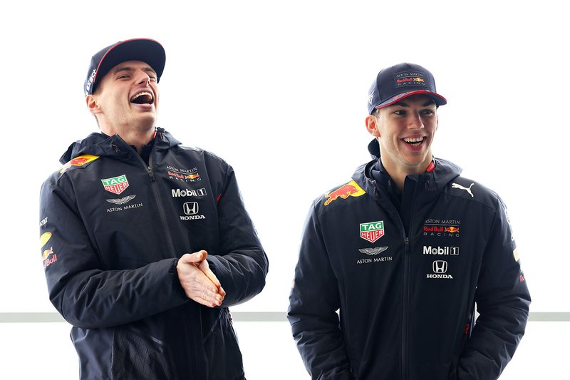 Max Verstappen, Red Bull Racing, Pierre Gasly, Red Bull Racing