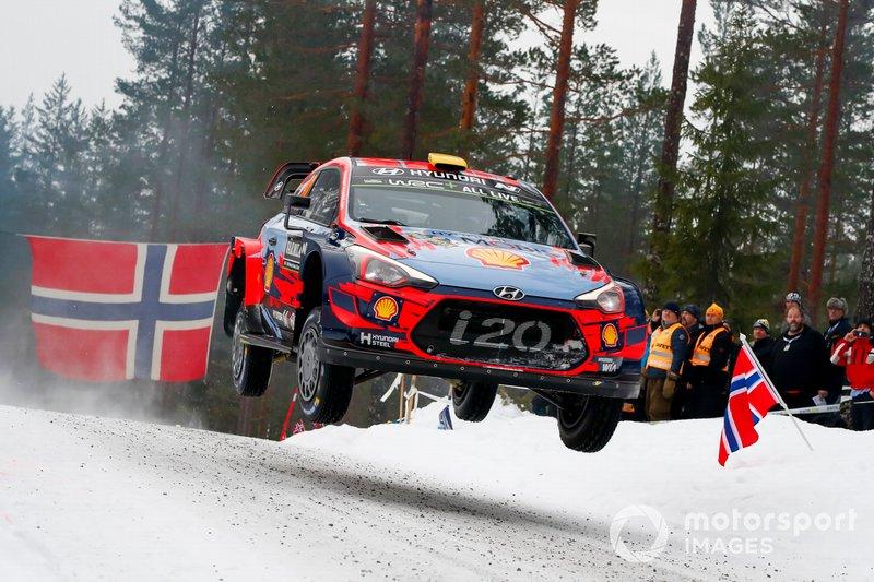 Andreas Mikkelsen, Anders Jäger-Amland, Hyundai Motorsport, Hyundai i20 Coupé WRC 2019