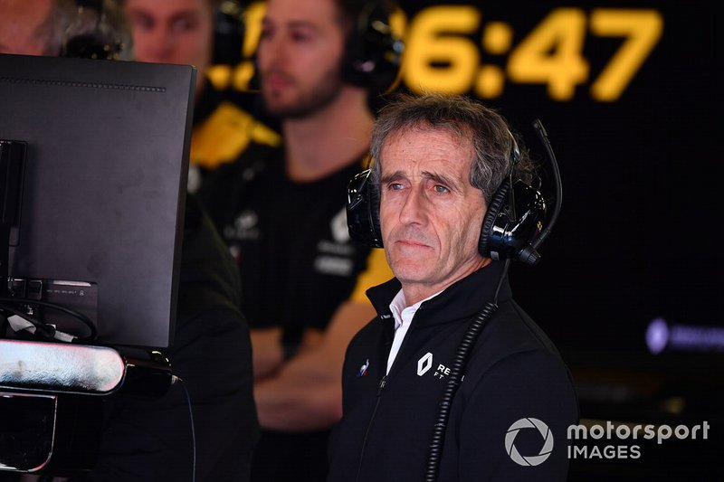 Ален Прост, радник Renault Sport F1 Team