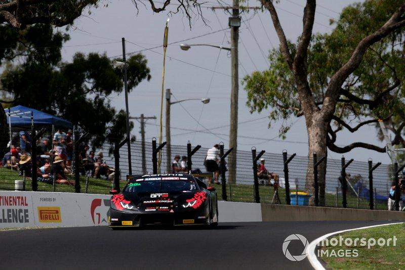 DNF: #29 Trofeo Motorsport Lamborghini Huracan GT3: Jim Manolios, Benjamin Porter, Ivan Capelli, Dean Canto