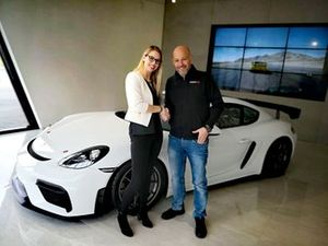 Marylin Niederhauser avec Walter Lechner