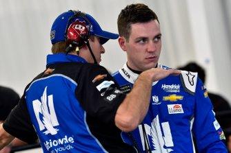 Alex Bowman, Hendrick Motorsports, Chevrolet Camaro Nationwide and Greg Ives