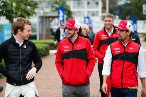 Oliver Turvey, NIO Formula E Team, Daniel Abt, Audi Sport ABT Schaeffler, Lucas Di Grassi, Audi Sport ABT Schaeffler.