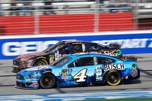 Kevin Harvick, Stewart-Haas Racing, Ford Mustang Busch Beer and Corey LaJoie, Go FAS Racing, Ford Mustang Old Spice