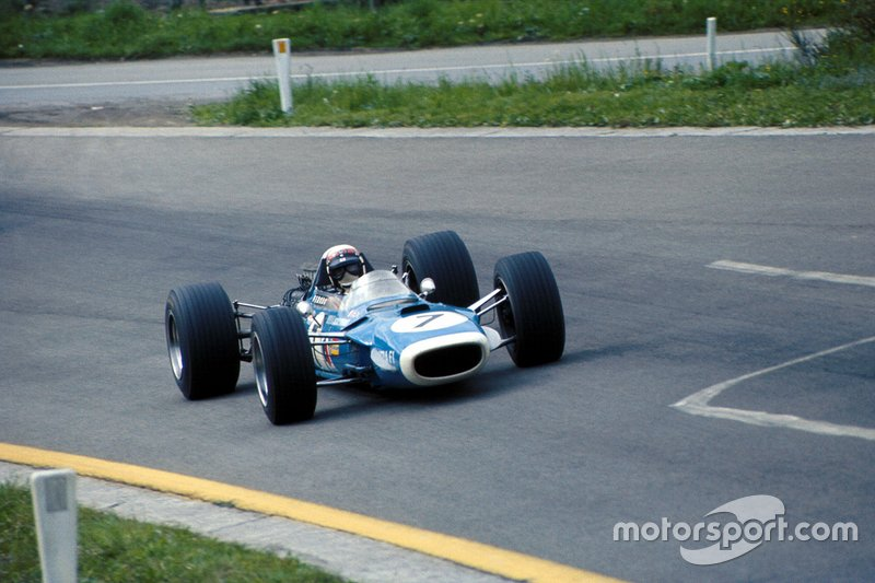 7: Jackie Stewart (Matra) Bélgica 1968