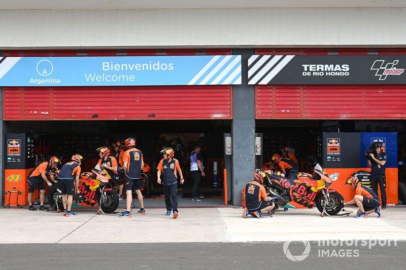 Garaje Red Bull KTM Factory Racing