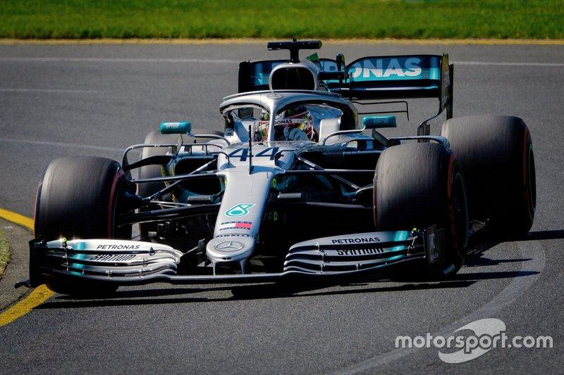 Avustralya: Lewis Hamilton, Mercedes AMG