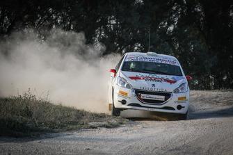 Lorenzo Coppe, Giacomo Poloni, Peugeot 208 R2B, Millenium Sport Pro