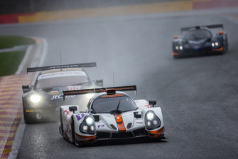 #15 RLR Msport Ligier JS P3 - Nissan: John Farano, Job Van Uitert, Robert Garofall, #80 Ebimotors Porsche 911 RSR: Fabio Babini, Riccardo Pera, Bret Curtis