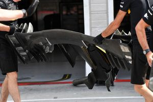 Renault Sport F1 Team R.S. 18 voorvleugel