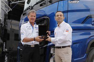 Malcolm Wilson, M-Sport Team Boss and Bahattin Topçu, Ford Trucks Marketing Director
