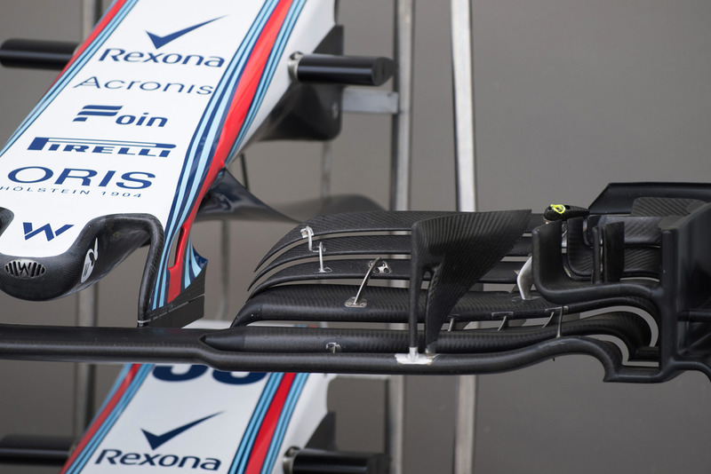 Un aileron avant de Williams FW41